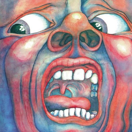 Original album cover of In the Court of the Crimson King (2 CD expanded set) Original recording remastered, Extra tracks, Original recording reissued Edition by King Crimson (2009) Audio CD by KIng Crimson