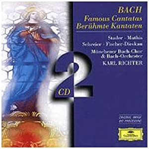 J.S.Bach: Famous Cantatas (BWV 140, 56, 51, 147, 4, 202) /Karl Richter from DG