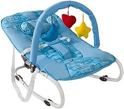 TecTake Hamaca para bebé Hamaquita + Arco de juego Nuevo Azul