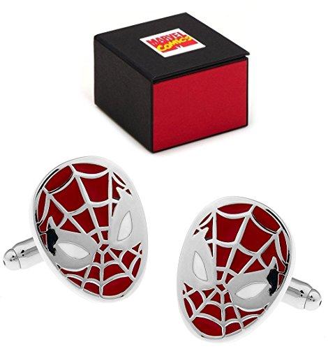 Marvel Spiderman Marvel-in-Confezione regalo-Gemelli a forma di Spiderman