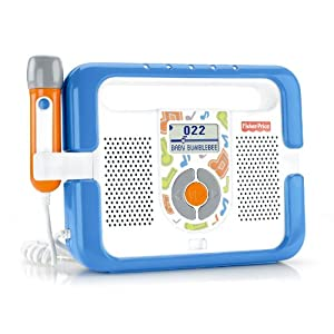 Mattel - T5268 - Fisher Price - Lecteur Mp3 - Antichoc - Bleu