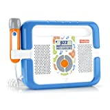 Fisher-Price Kid-Tough Music Player with Microphone - Blue ~ Fisher-Price