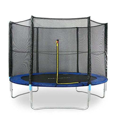 Ancheer-Exercise-Rebounder-Trampolin-with-Enclosure-for-HomeOutdoor-10-feet
