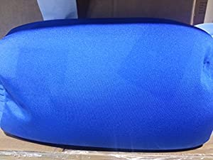 HoMedics Imperfect SqUsh Blue Tube Pillow - Irregulars with Blemishes and Fade spots