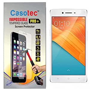 Casotec Impossible Tempered Glass Screen Protector for Oppo R7 lite