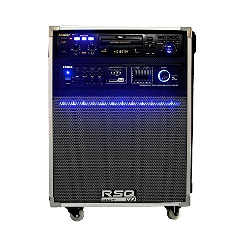 Buy Bargain RSQ Festival II-22 250W Bluetooth/USB/SD/Tuner Karaoke Player