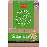 Cloud Star Itty Bitty Buddy Biscuits Dog Treats, 8oz Box, Roasted Chicken