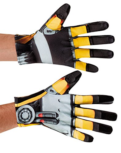 Transformers Bumblebee Adult Costume Gloves