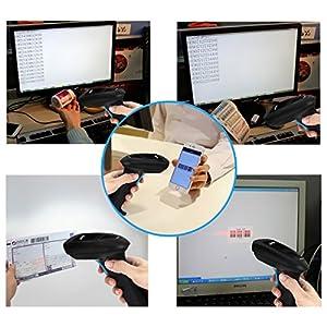 AUSPA H271B Bluetooth Wireless 2D QR PDF417 Data Matrix Barcode