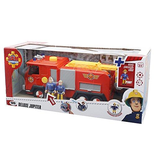 Giochi Preziosi - Sam il Pompiere Camion Giocattolo Jupiter con Luci e Suoni