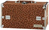 JAPONESQUE Medium Train Case, Leopard