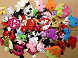 30pc Assorted Fish, Butterflies, Strawberries, Flowers, Skulls & More Padded ...