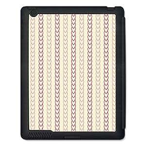 Skin4Gadgets ABSTRACT PATTERN 204 Tablet Designer BLACK SMART CASE for APPLE IPAD 4