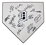 Detroit Tigers 2015 Team Autographed Signed Baseball Home Plate