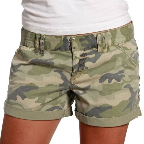 RVCA Madjegoria Camo Juniors Denim Short