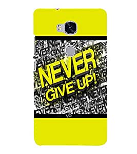 printtech Gym Quotes Back Case Cover for Huawei Honor 5X :: Huawei Honor X5 :: Huawei GR5