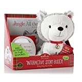 Jingle All The Way Stuffed Animal Plus Book, E Book,Cd And Reusable Toy Tote Bag