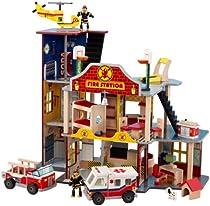 Big Sale Best Cheap Deals Kidkraft Deluxe Fire Rescue Set