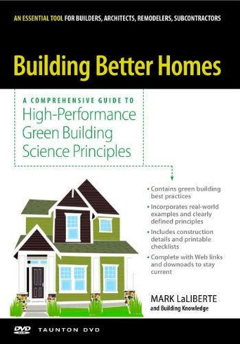 Building Better Homes - Taunton Press - 1600851053 - ISBN:1600851053