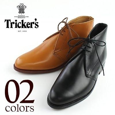 ブラック(C05) UK9.0(JPN27.5) TRICKER\\\'S M5065 CHUKKA BOOTS トリッカーズ M5065 チャッカブーツ (2colors)