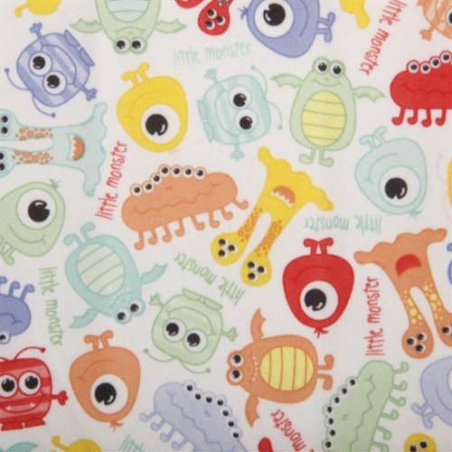 Babyville Boutique Bolt Pul Fabric, 64 Inch By 8-Yard Bolt, Monsters front-84121