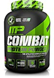 Muscle Pharm Combat Powder Advanced Time Release Protein, Triple Berry, 4-Pound Tub