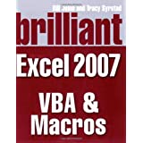 Brilliant Microsoft Excel 2007 VBA and Macros (Brilliant Excel Solutions)by Mr Bill Jelen