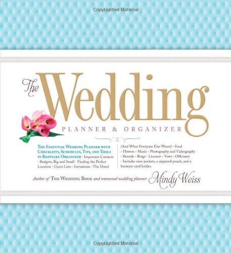 51XsWsQV%2BhL The Wedding Planner & Organizer