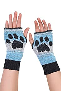 Green 3 Apparel Kitty Paw Made in USA Hand warmers (Blue)