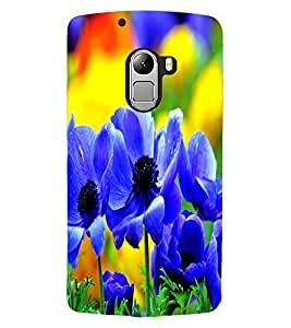 ColourCraft Beautiful Flowers Design Back Case Cover for LENOVO VIBE X3 LITE