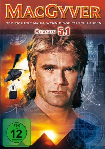 MacGyver - Season 5, Vol. 1 [3 DVDs]