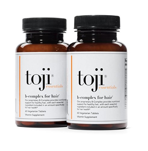 Toji Essentials: B-Complex For Hair | Complete B-Complex, With Vitamin B12 As Methylcobalamin And 3000Mcg Of Biotin (120 Day Supply)