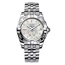 Breitling Galactic 36 Unisex Mother of Pearl Diamond Automatic Watch