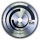 Bosch Zubehör 2608640451 Kreissägeblatt Multi Material 254 x 30 x