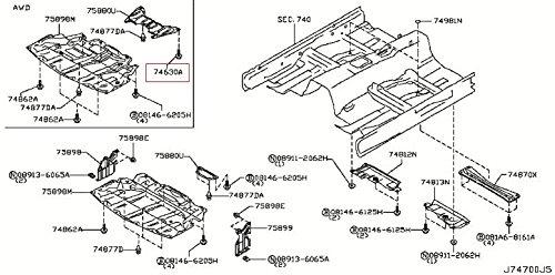infiniti-genuine-bodyfront-roof-floor-floor-fitting-screw-01456-00691-qx70-fx-qx50-ex-q60-g-coupe-q6