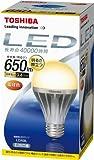 TOSHIBA E-CORE(イー・コア) LED電球(E26口金・一般電球形・白熱電球40W相当 650ルーメン・電球色) LDA9L
