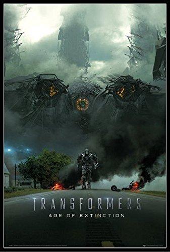 トランスフォーマー/ロストエイジ ポスターフレームセット Transformers 4 Imax Teaser(140620)