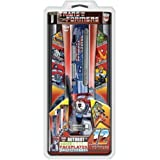 Core Gamer XB3-07370 12 Autobots Faceplates for XBox 360 with Chrome Finish