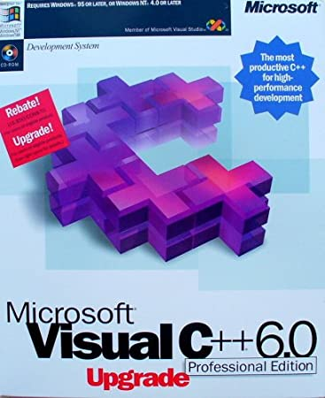Microsoft Visual C++ 6 Professional Upgrade