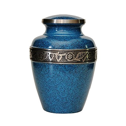 Funeral Cremation Urn, Solid Brass Memorial Ash Urns (Big Urns For Human Ashes compare prices)