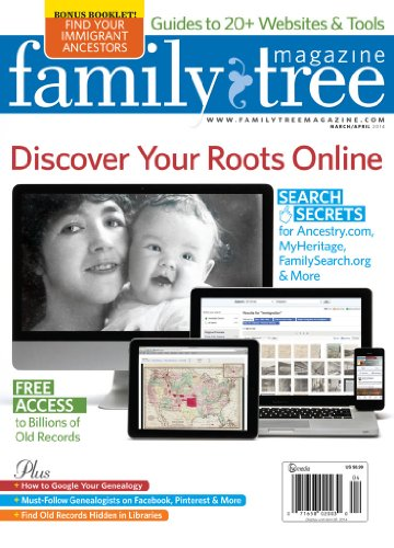 Family Tree Magazine (1-year) [Print + Kindl