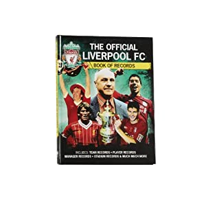 Official LFC Records Book from Liverpool FC