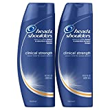 Head and Shoulders Clinical Strength Dandruff and Seborrheic Dermatitis Shampoo, 13.5 Fl Oz (Pack of 2)