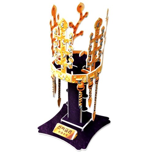 Jigsaw 3D Puzzle Korea History Series - Silla Gold Crown