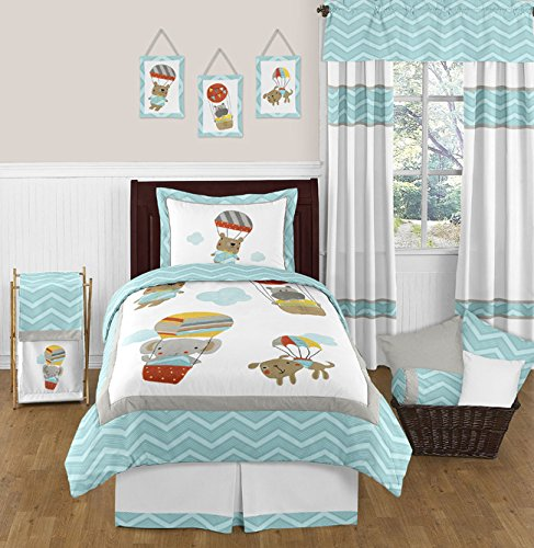 Elephant Twin Bedding 7756 back