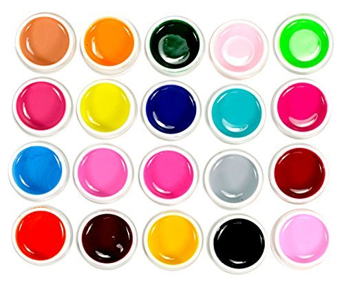 micro-trader-20-mix-pure-solid-colours-uv-color-gel-nail-art-uv-builder-gel-set