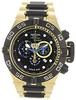 Invicta Men's 6563 Subaqua Noma IV Collection Chronograph 18k Gold-Plated Stainless Steel Watch