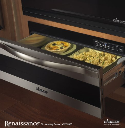 Dacor Millennia 30 In. Stainless Steel Electric Warming Drawer - MWDH30S