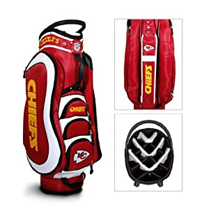 Brand New Kansas City Chiefs Medalist Cart Bag by Things for You