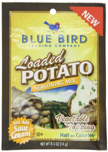 Blue Bird Trading Company Seasoning Mix, Loaded Potato, 0.5 Ounce (Pack of 12)